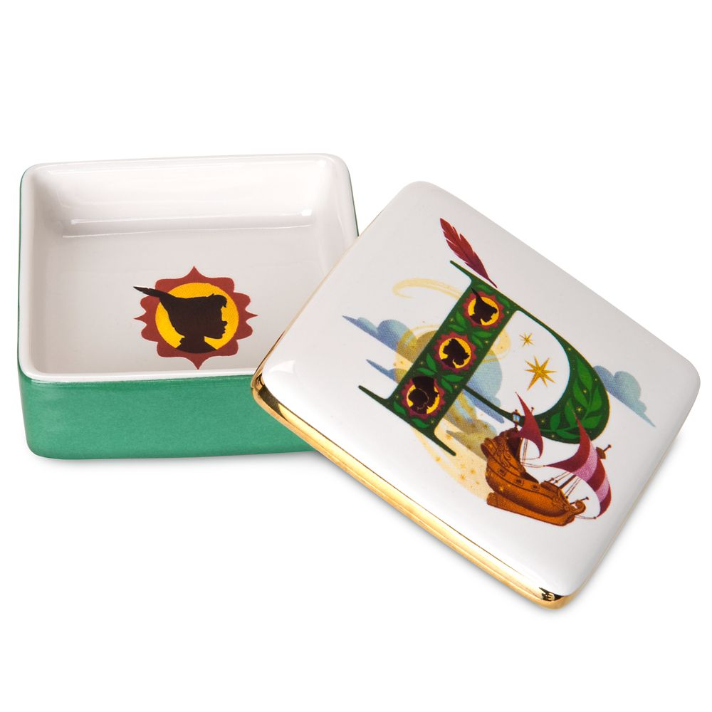 Disney Parks ABC Trinket Box – P