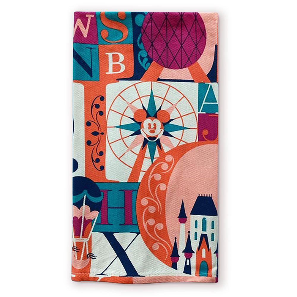 shopdisney.com - Disney Parks ABC Kitchen Towel 24.99 USD
