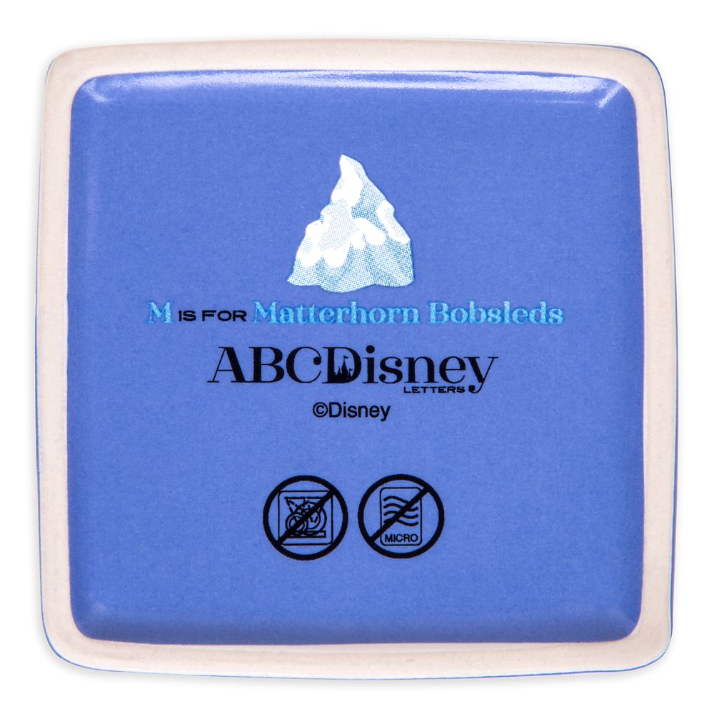 Disney Parks ABC Trinket Box – M – Disneyland