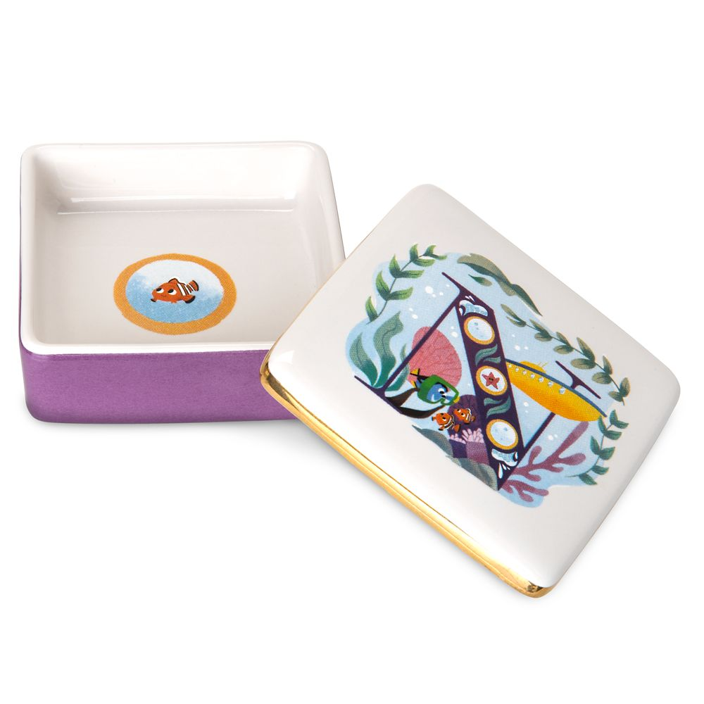 Disney Parks ABC Trinket Box – N – Disneyland