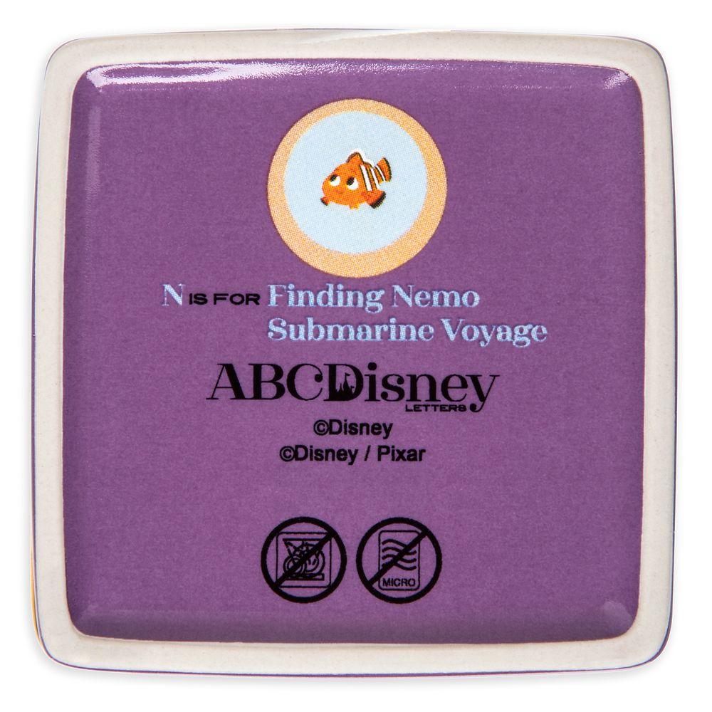 Disney Parks ABC Trinket Box – N – Disneyland