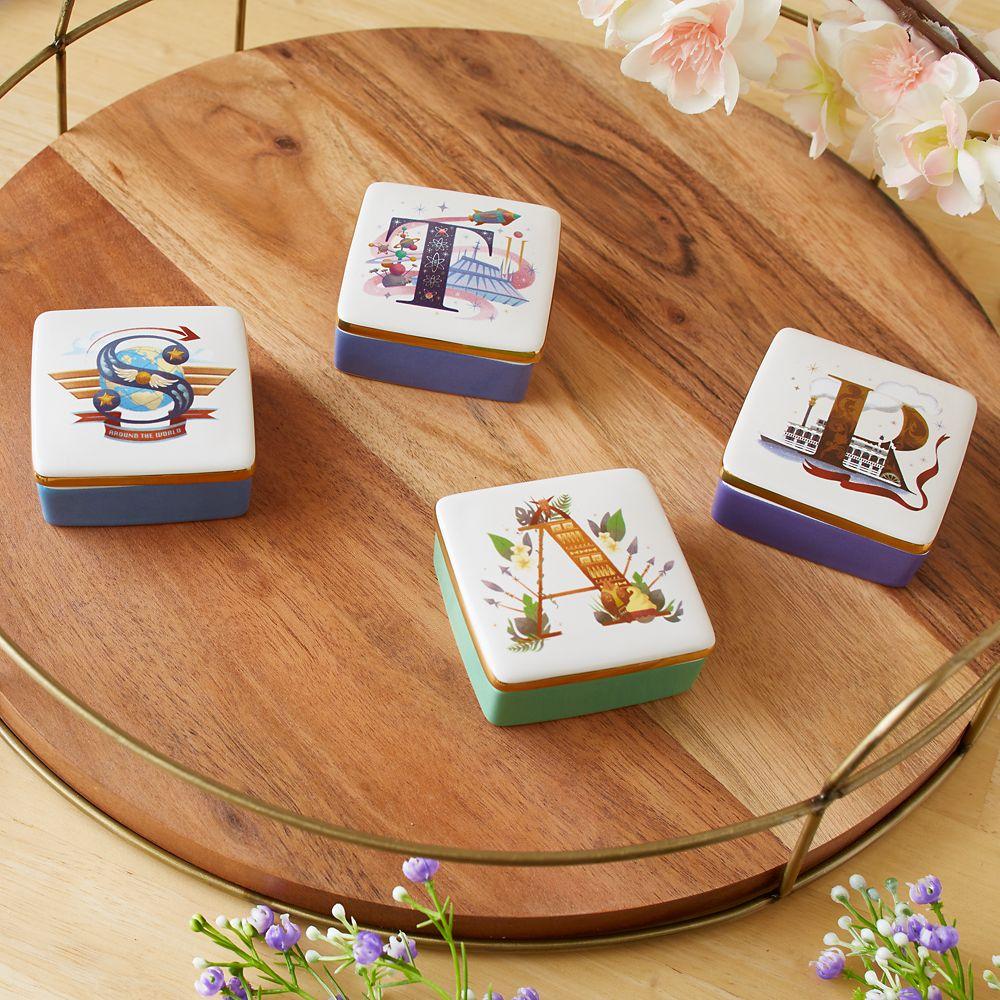 Disney Parks ABC Trinket Box – R