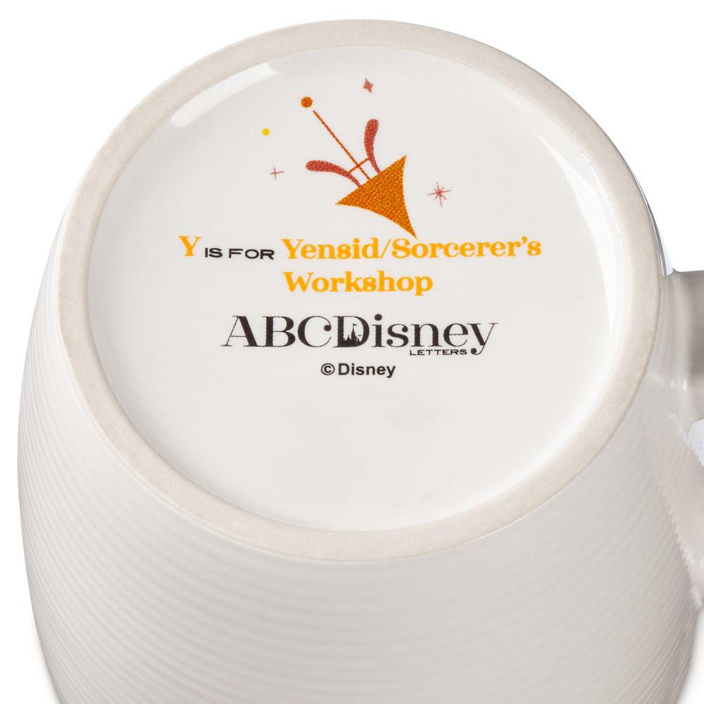 Disney Parks ABC Mug – Y – Disneyland