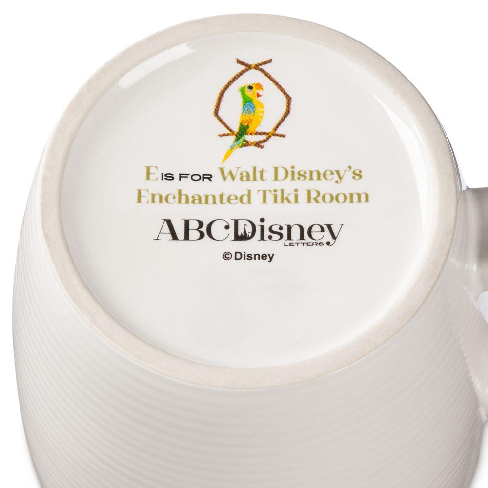 Disney Parks ABC Mug – E