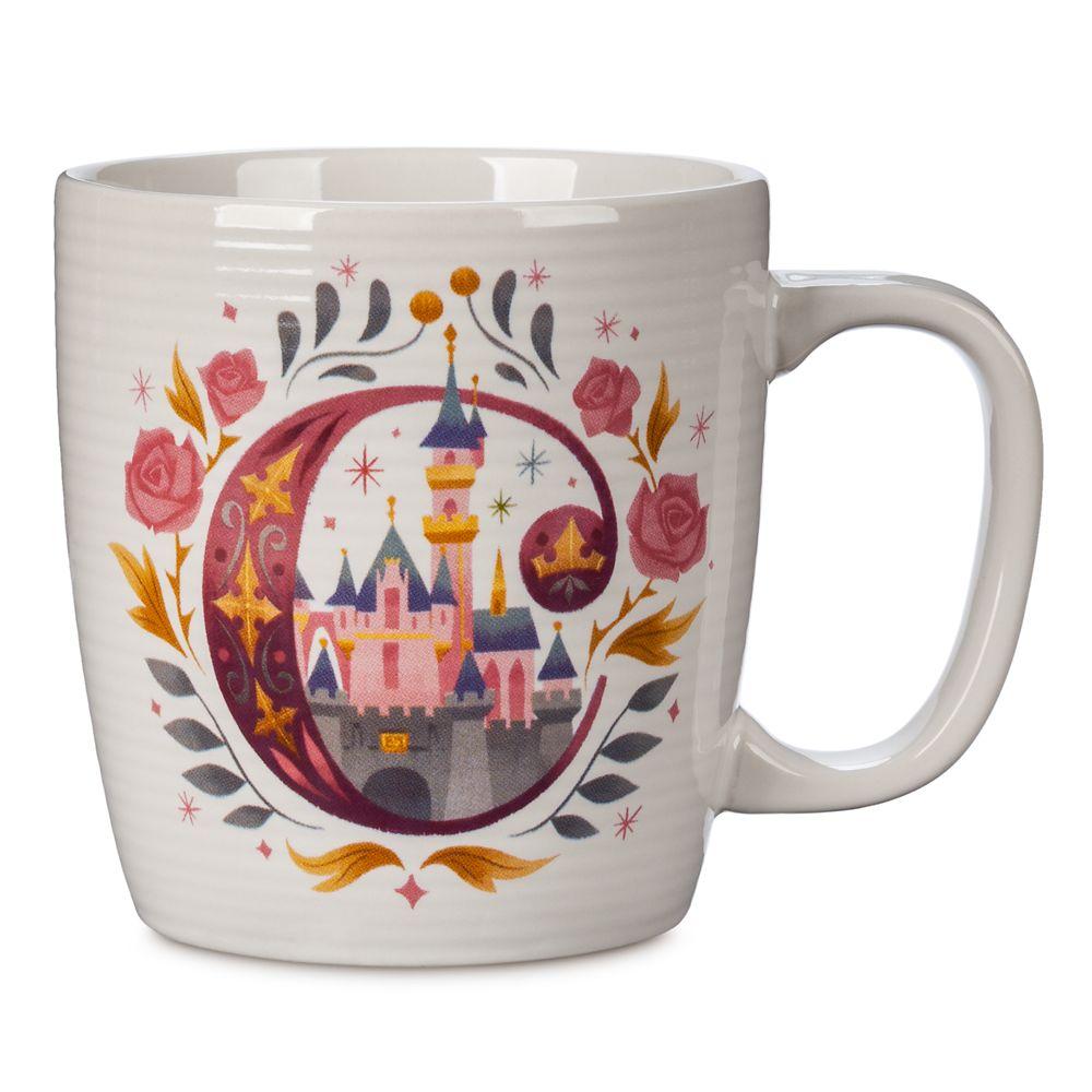 Disney Parks ABC Mug – C – Disneyland