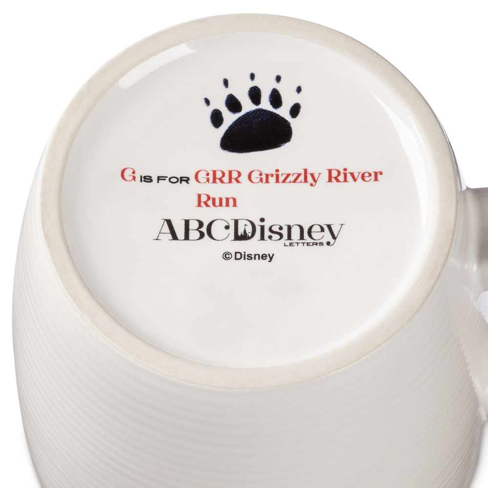 Disney Parks ABC Mug – G – Disneyland