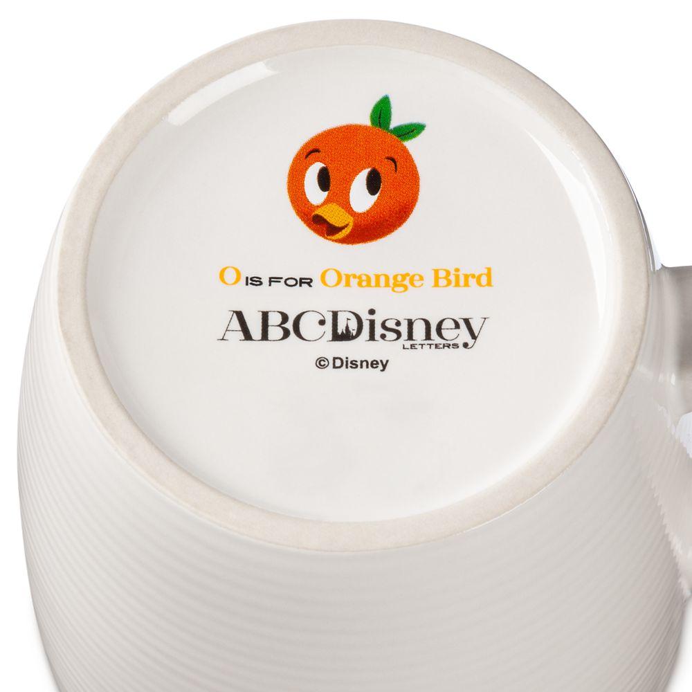 Disney Parks ABC Mug – O