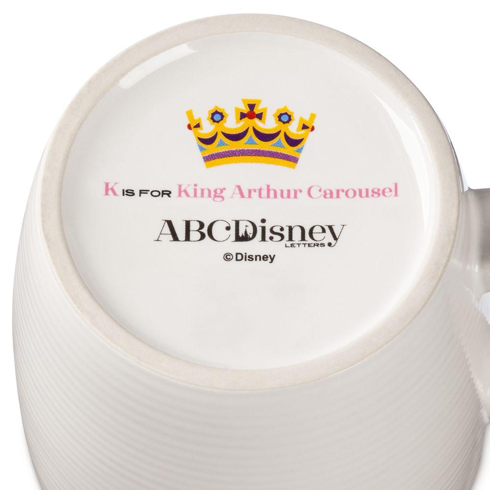 Disney Parks ABC Mug – K – Disneyland