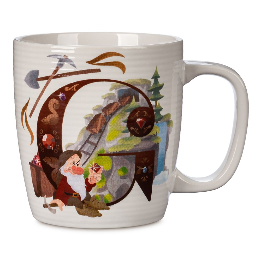 Disney Parks ABC Mug – G – Walt Disney World