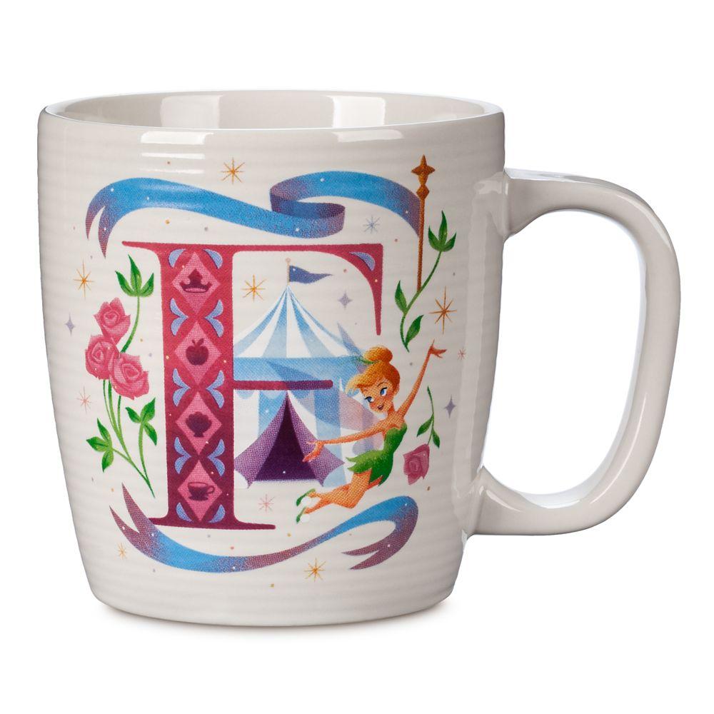 Disney Parks ABC Mug – F