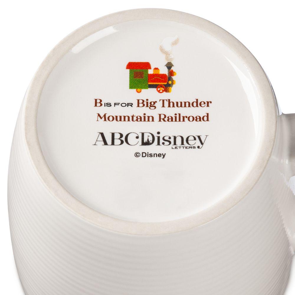 Disney Parks ABC Mug – B