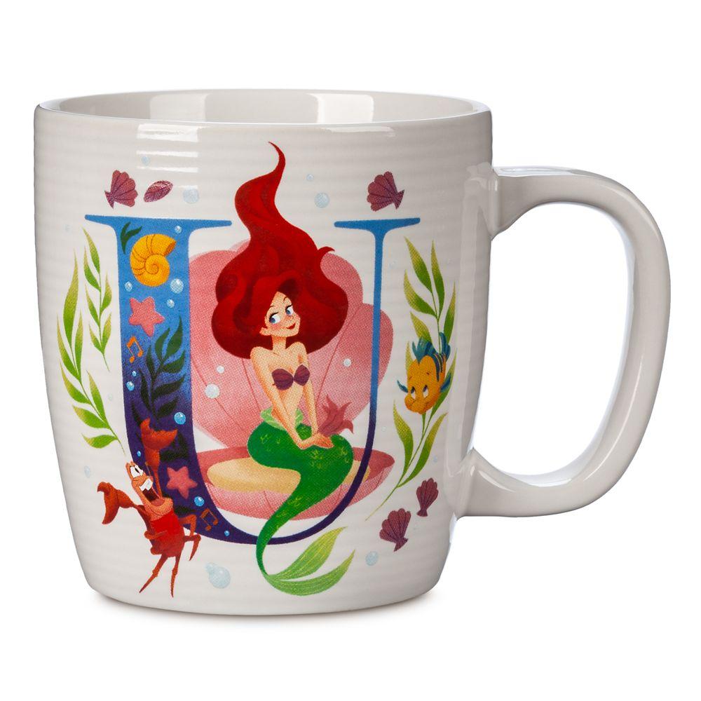 Disney Parks ABC Mug – U