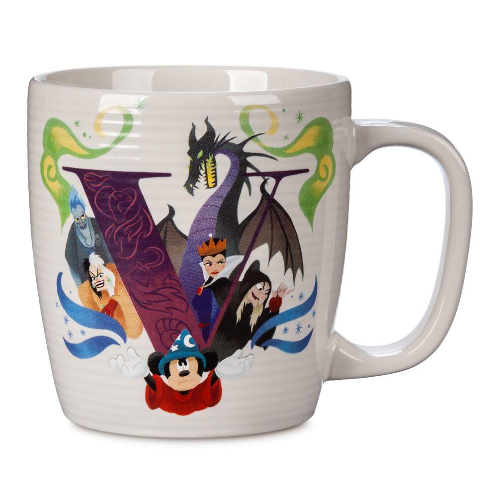 Disney Parks ABC Mug – V