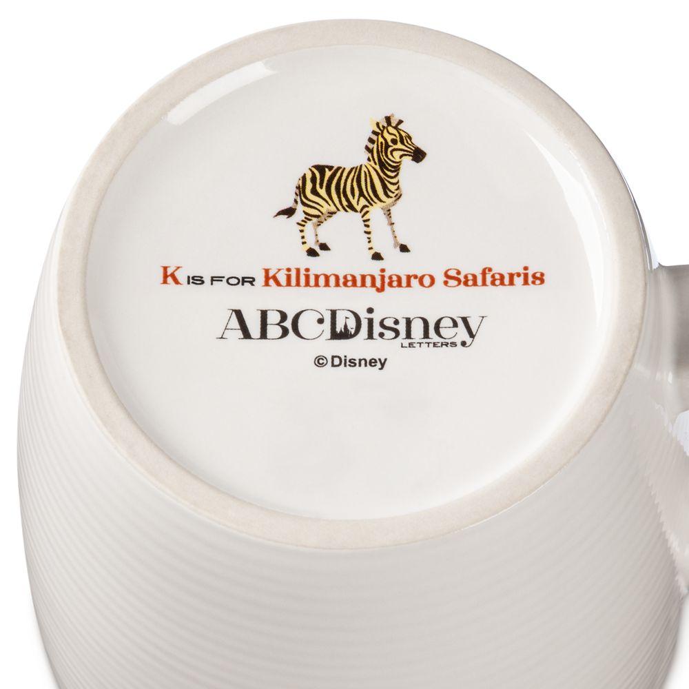 Disney Parks ABC Mug – K – Walt Disney World