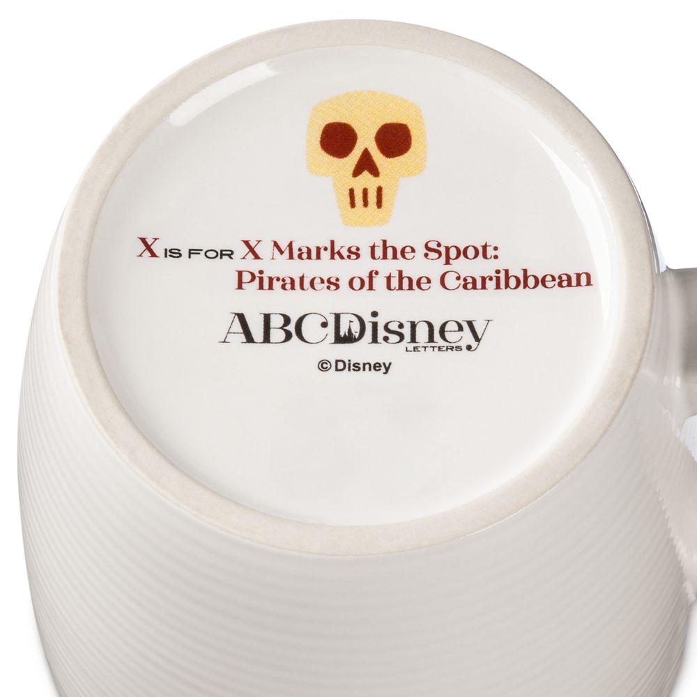Disney Parks ABC Mug – X