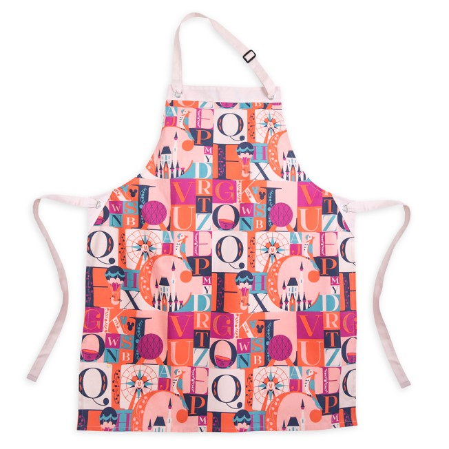 Disney Parks ABC Apron for Adults