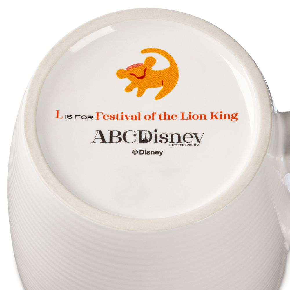 Disney Parks ABC Mug – L – Walt Disney World