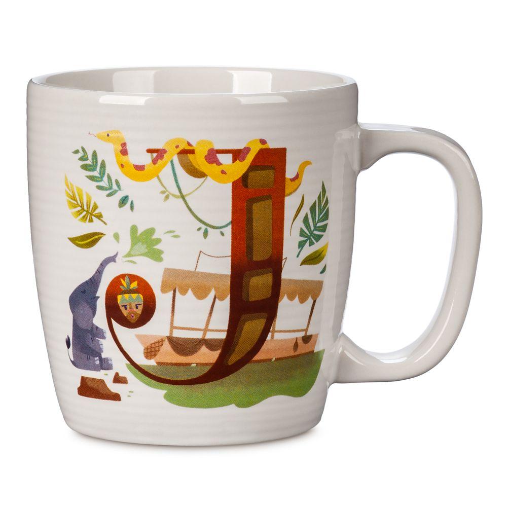 Disney Parks ABC Mug – J