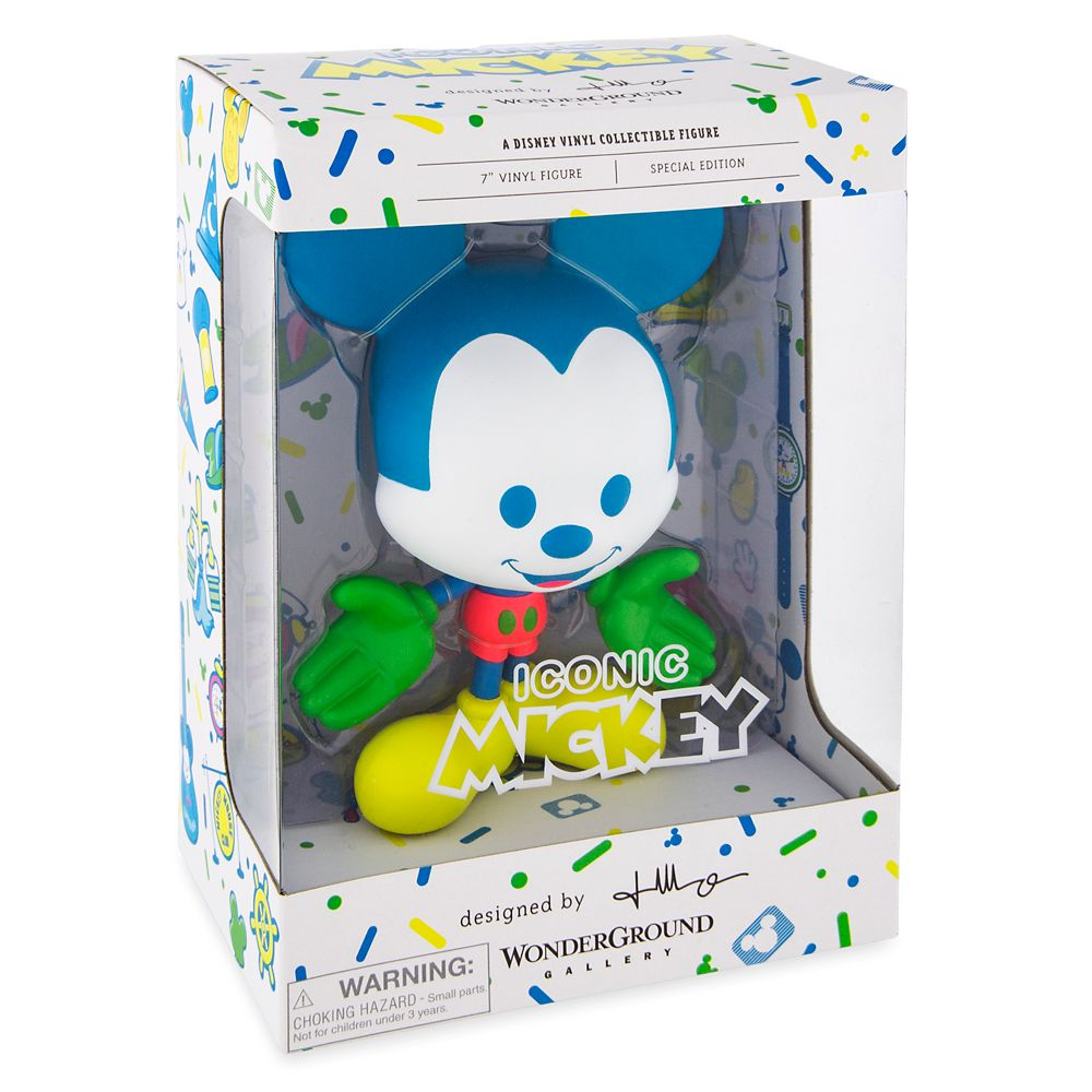 Mickey Mouse Neon Vinyl Figure by Jerrod Maruyama – Special Edition