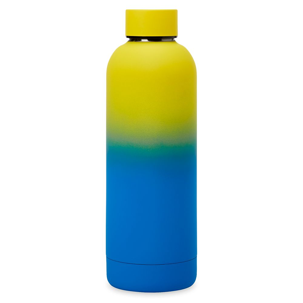 Walt Disney World Logo Neon Stainless Steel Water Bottle