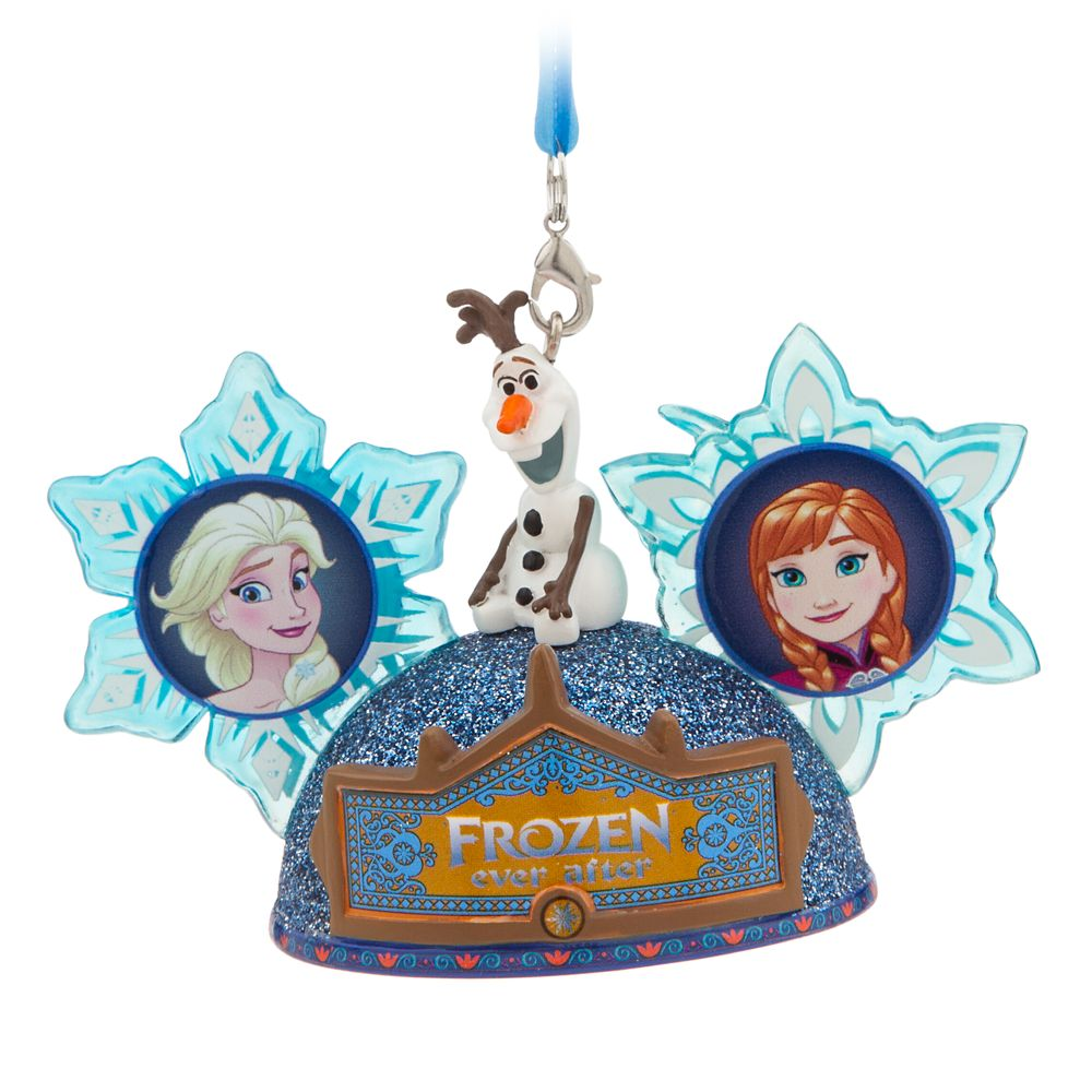 Frozen Ever After Ear Hat Ornament – Epcot