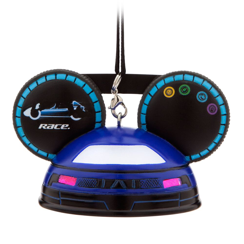 Test Track Light-Up Ear Hat Ornament – Epcot