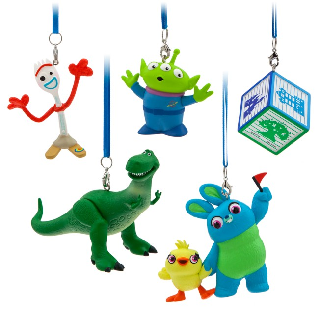 Toy Story 4 Ornament Set