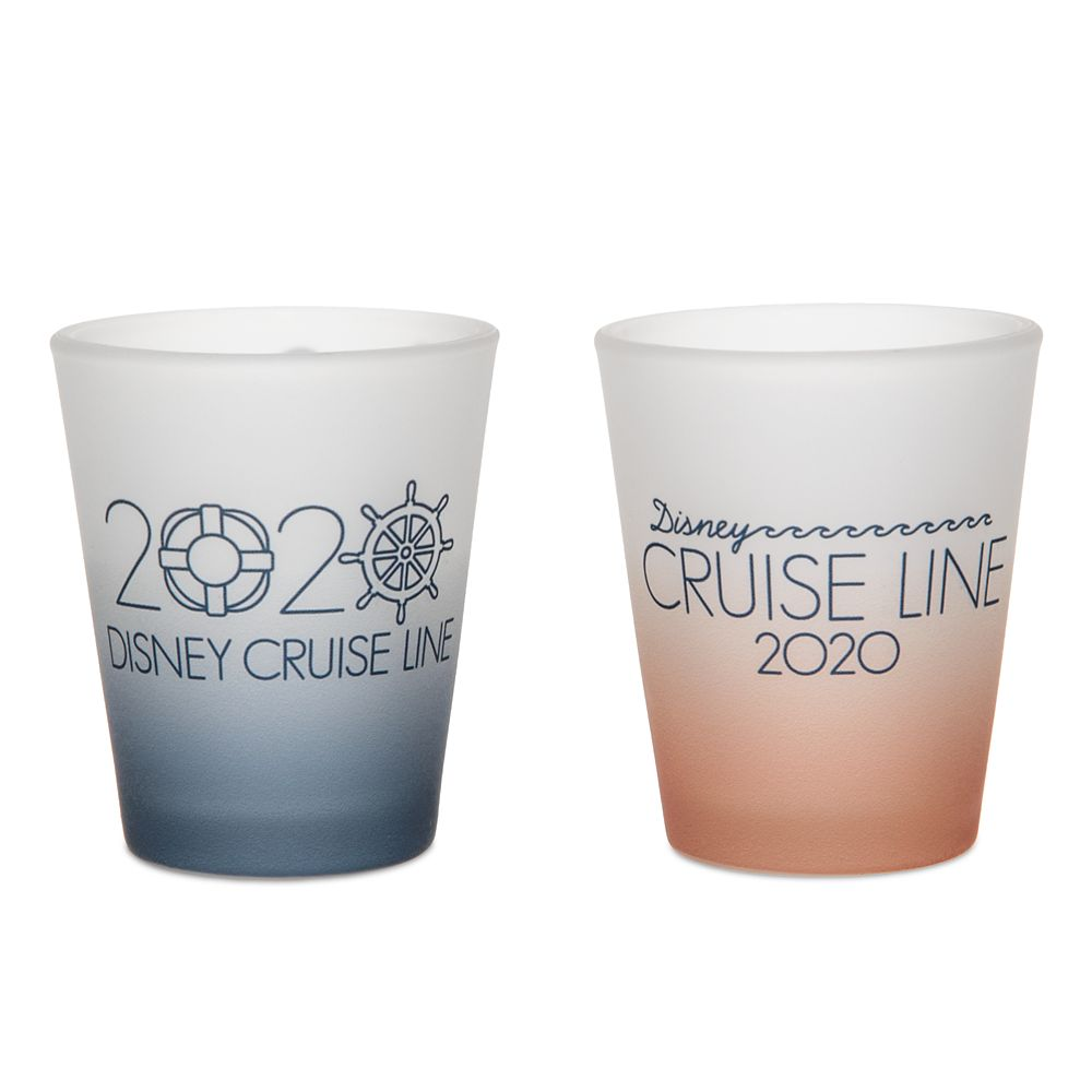Steamboat Willie Mini Glass Set – Disney Cruise Line 2020