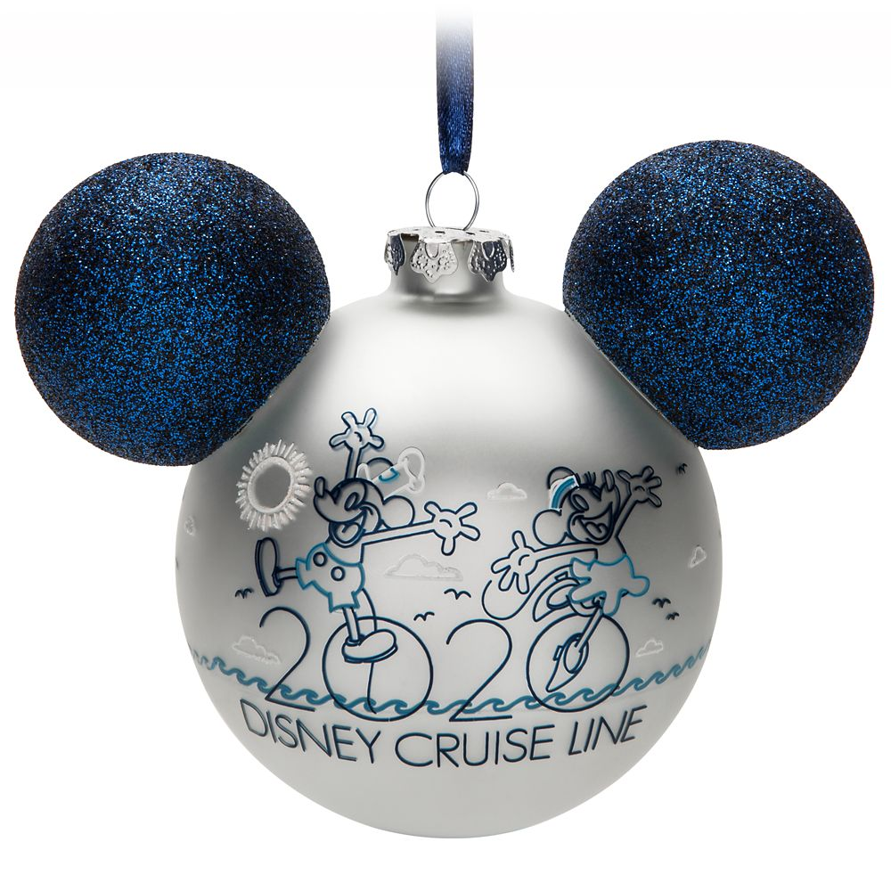 Mickey Mouse Icon Ornament  Disney Cruise Line 2020