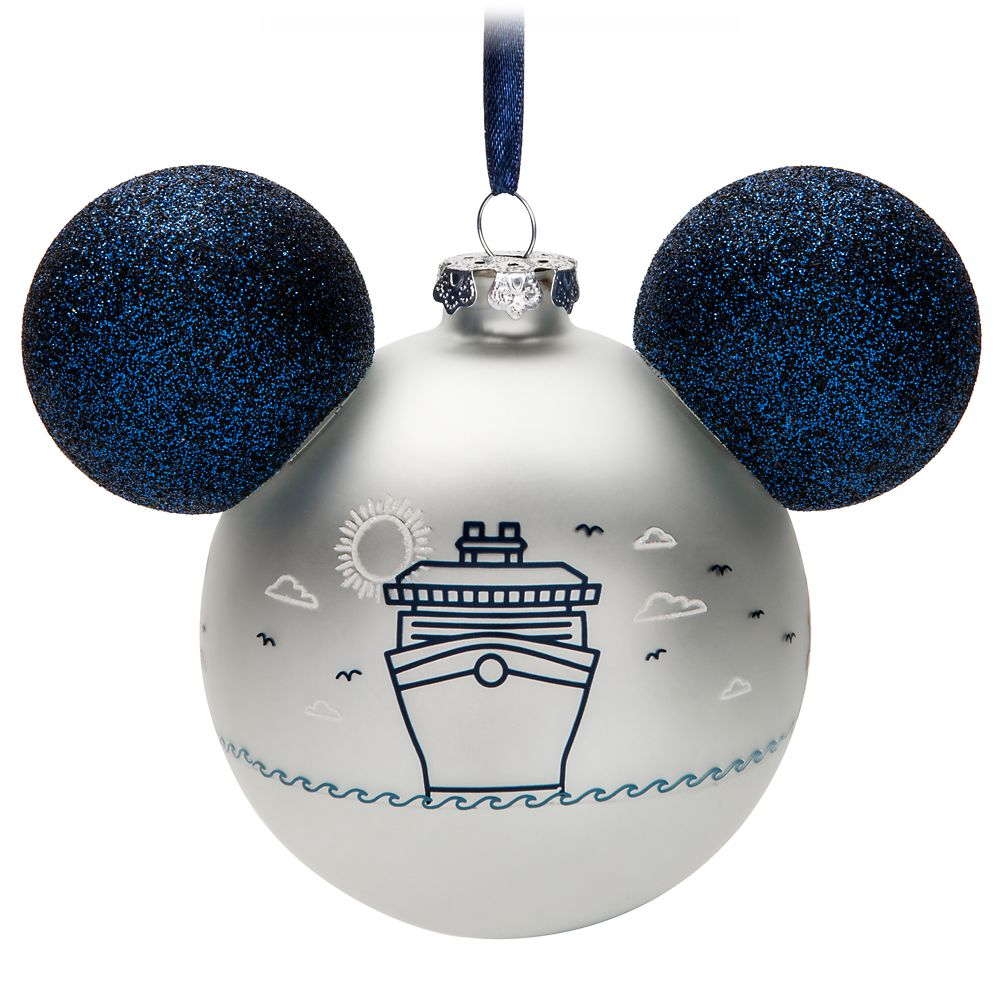 Mickey Mouse Icon Ornament – Disney Cruise Line 2020