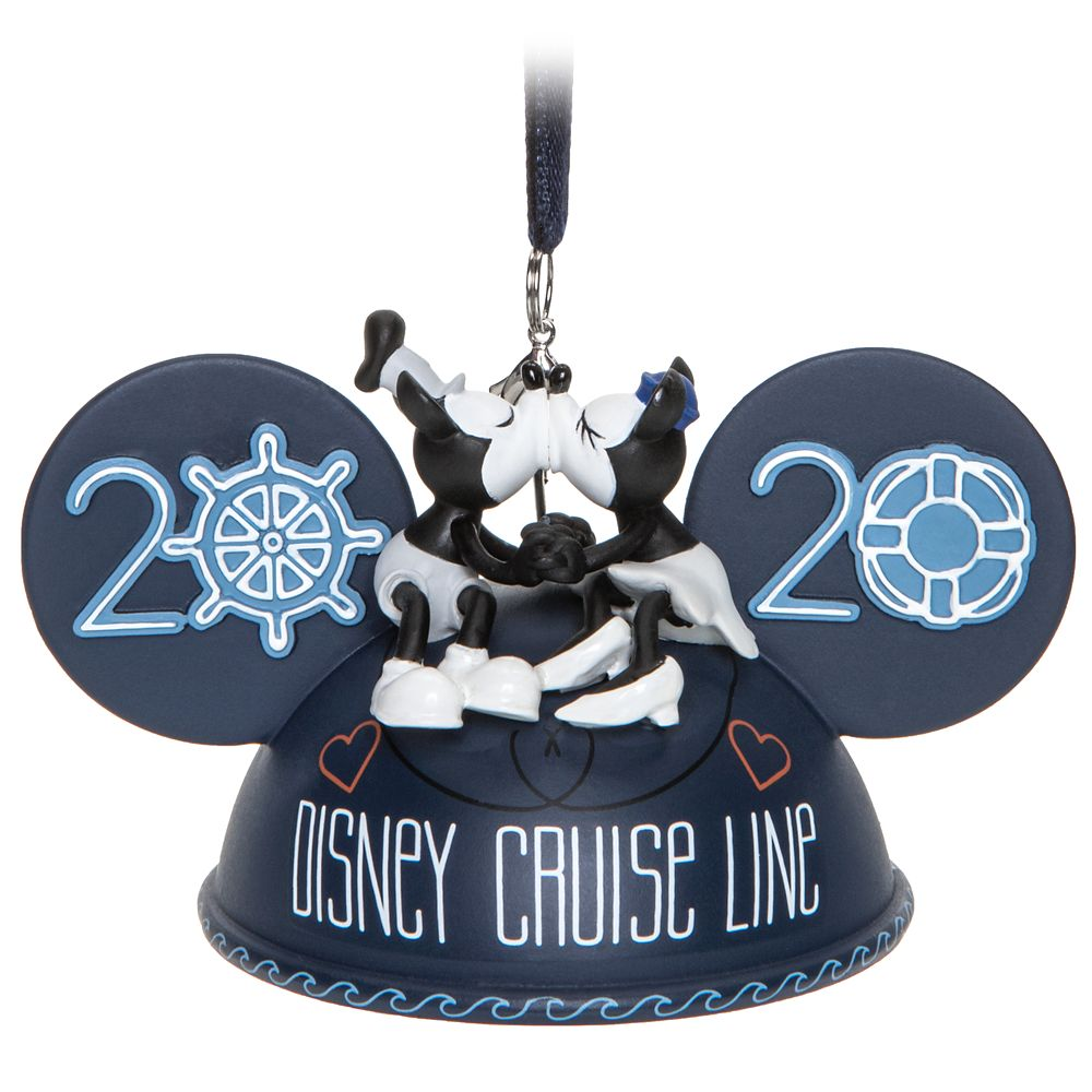 Mickey Mouse Ear Hat Ornament  Disney Cruise Line 2020