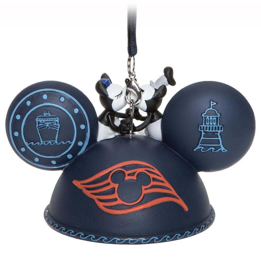 Mickey Mouse Ear Hat Ornament – Disney Cruise Line 2020