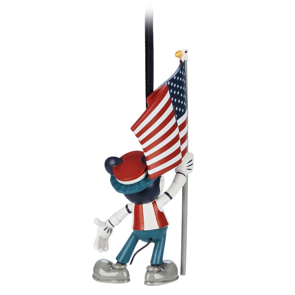 Mickey Mouse Americana Figural Ornament