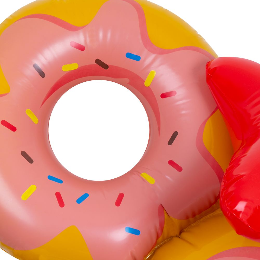 Minnie Mouse Donut Pool Float