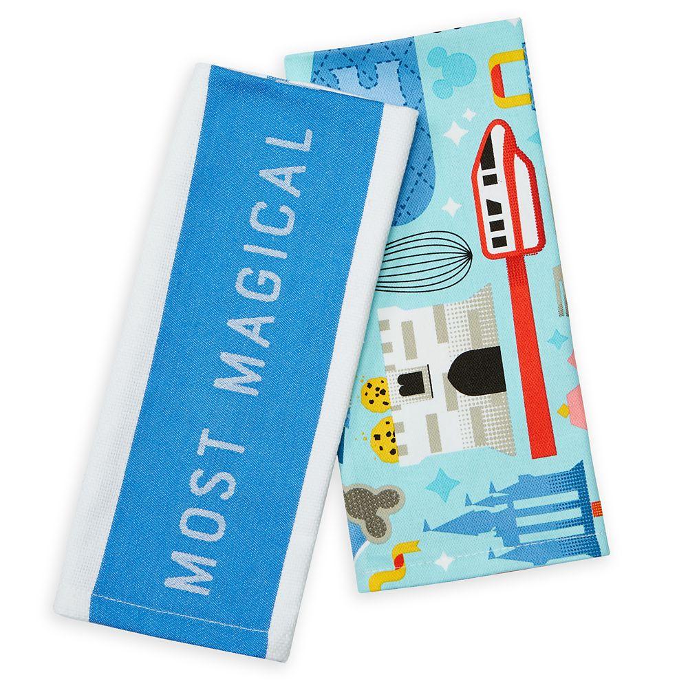shopdisney.com - Disney Parks Mousewares Kitchen Towel Set  Walt Disney World 19.99 USD