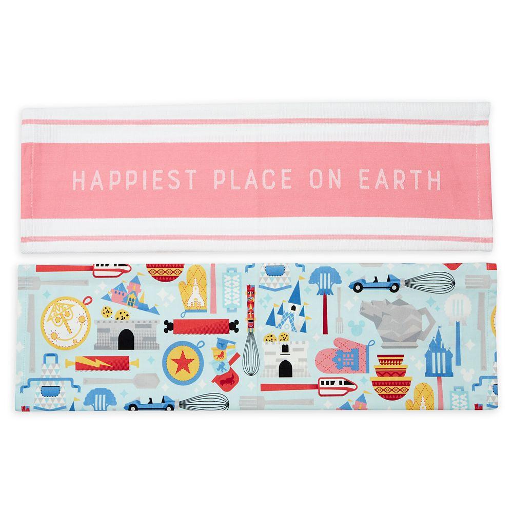 Disney Parks Mousewares Kitchen Towel Set – Disneyland