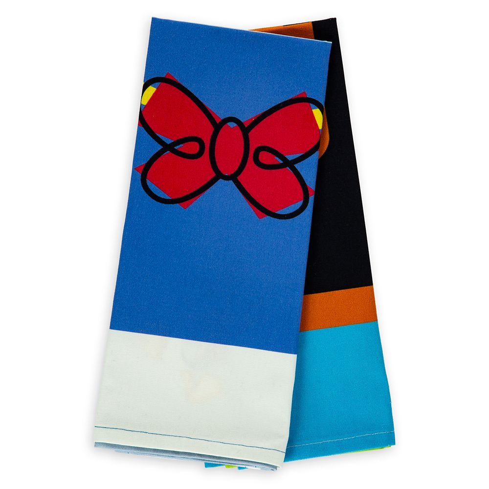 Donald Duck and Goofy Kitchen Towel Set