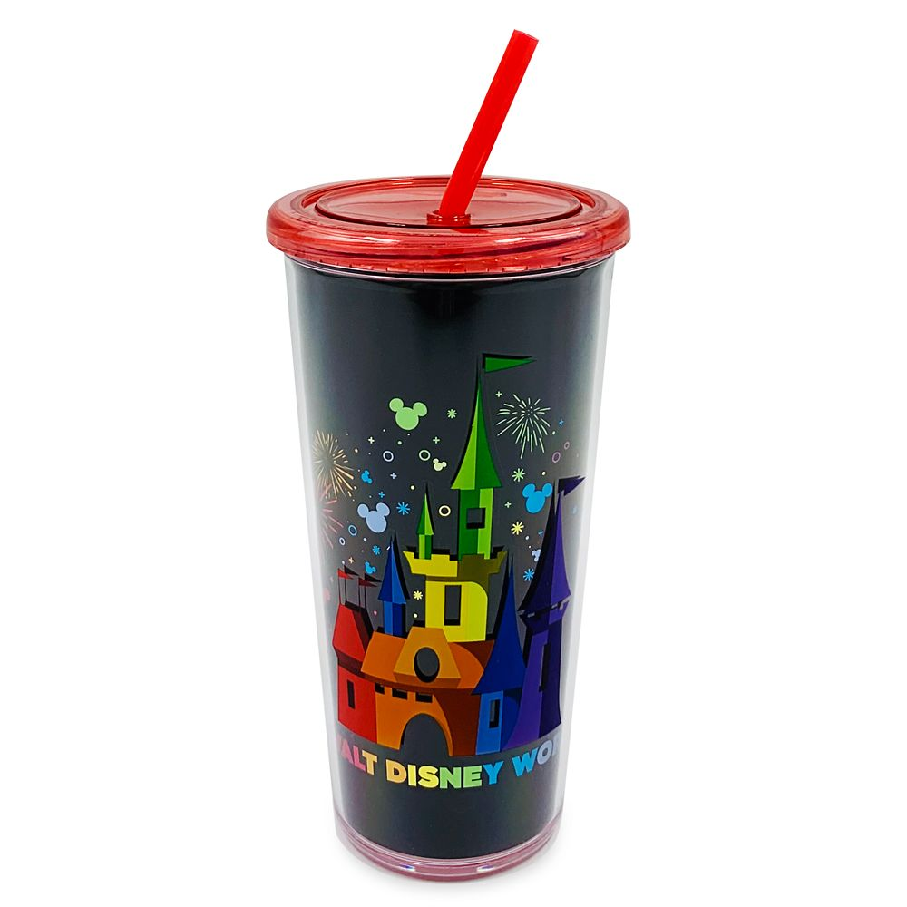 Rainbow Disney Collection Walt Disney World Tumbler with Straw – 2020