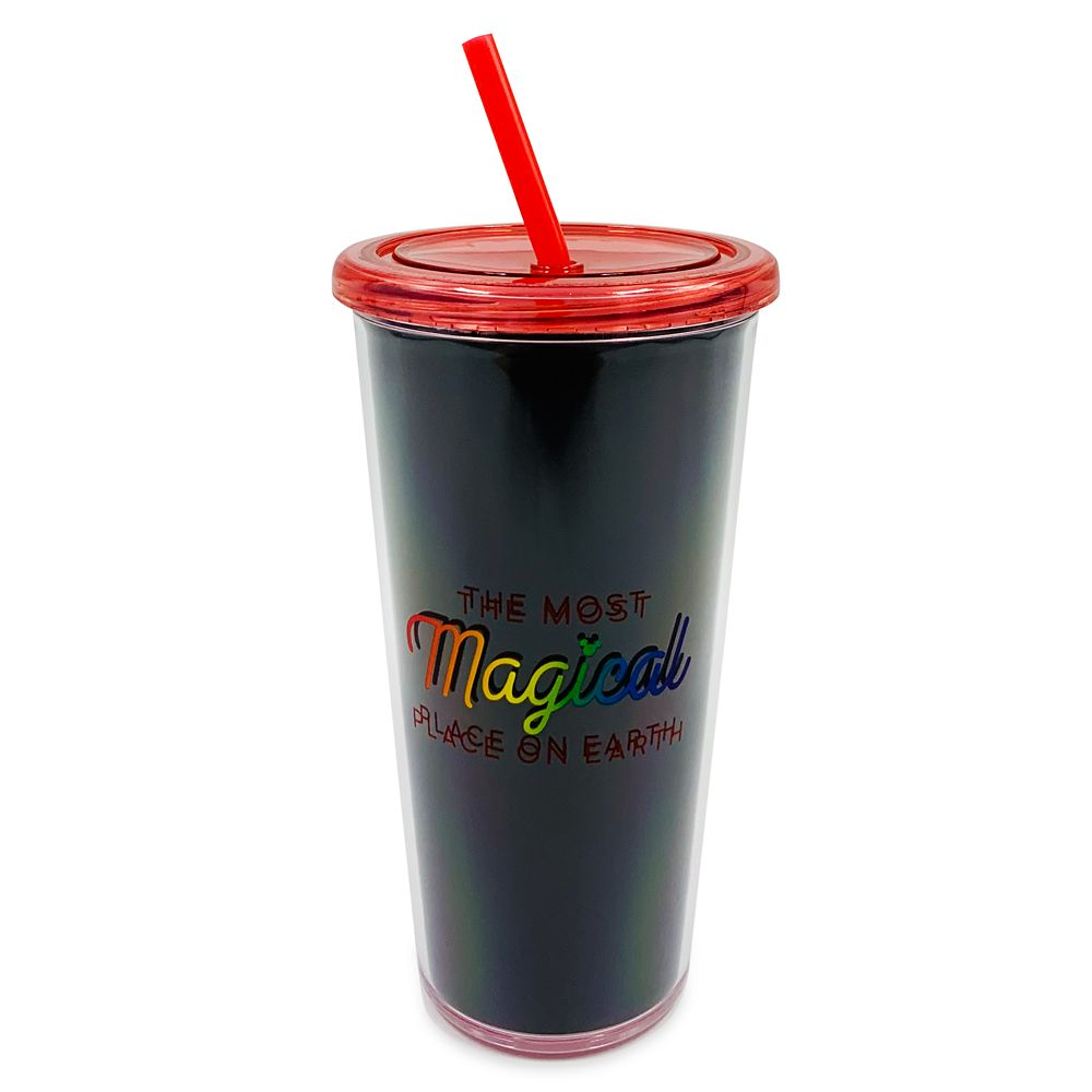 Rainbow Disney Collection Walt Disney World Tumbler with Straw – 2020