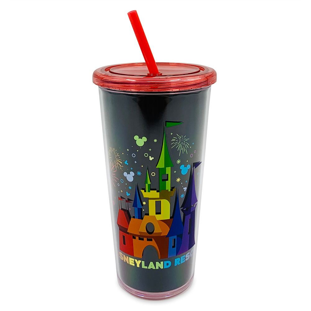 Rainbow Disney Collection Disneyland Tumbler with Straw – 2020