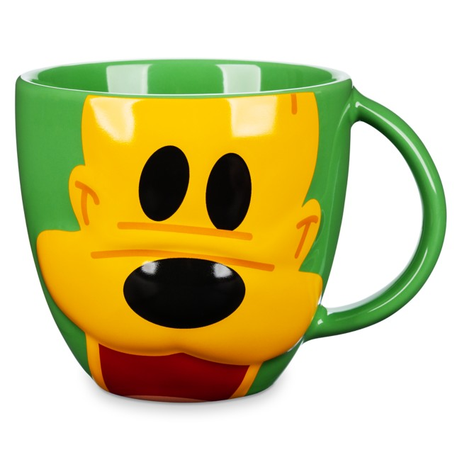 Pluto Face Mug