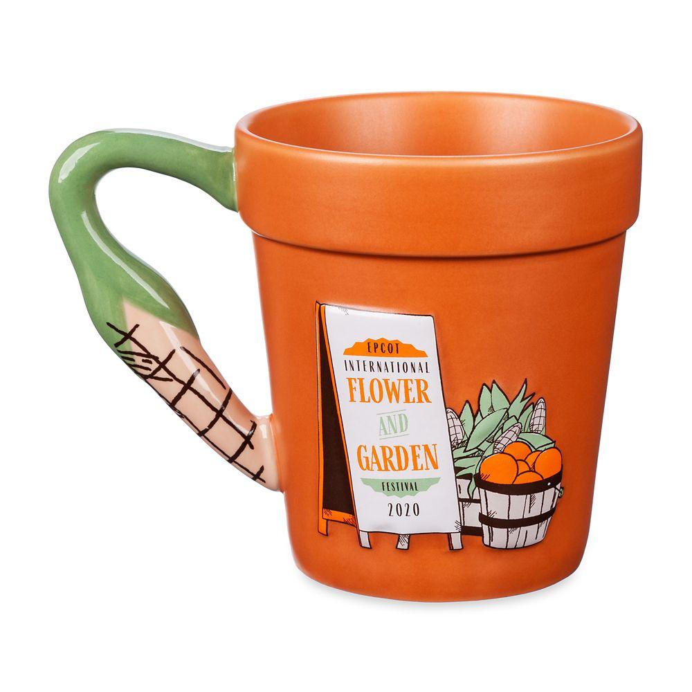 Mickey Mouse Farmer's Market Flower Pot Mug – Epcot International Flower and Garden Festival 2020