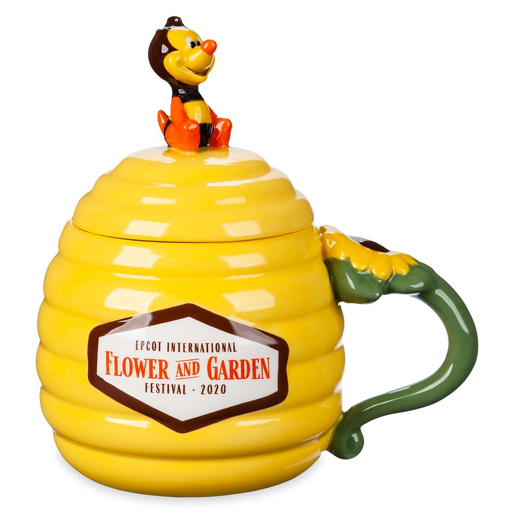 Spike Beehive and Lid Mug  Epcot International Flower and Garden Festival 2020 Official shopDisney