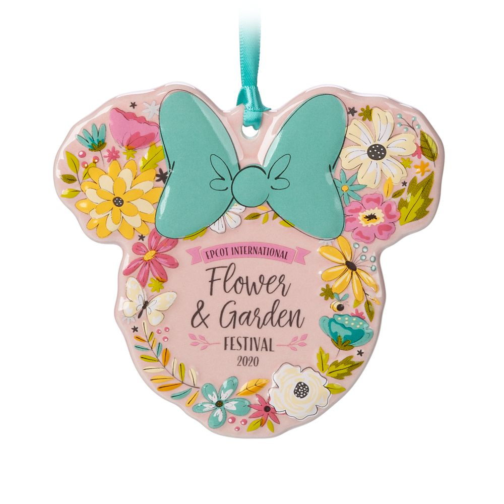 Minnie Mouse Icon Ornament – Epcot International Flower and Garden Festival 2020