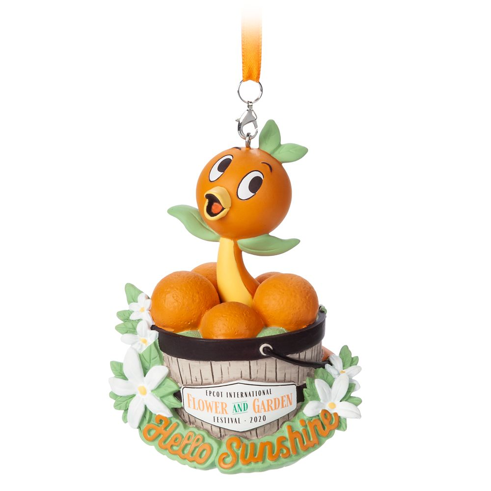 Orange Bird Figural Ornament – Epcot International Flower and Garden Festival 2020