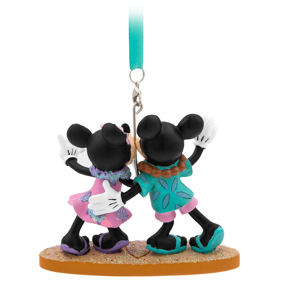 Mickey and Minnie Mouse Figural Ornament – Aulani, A Disney Resort & Spa