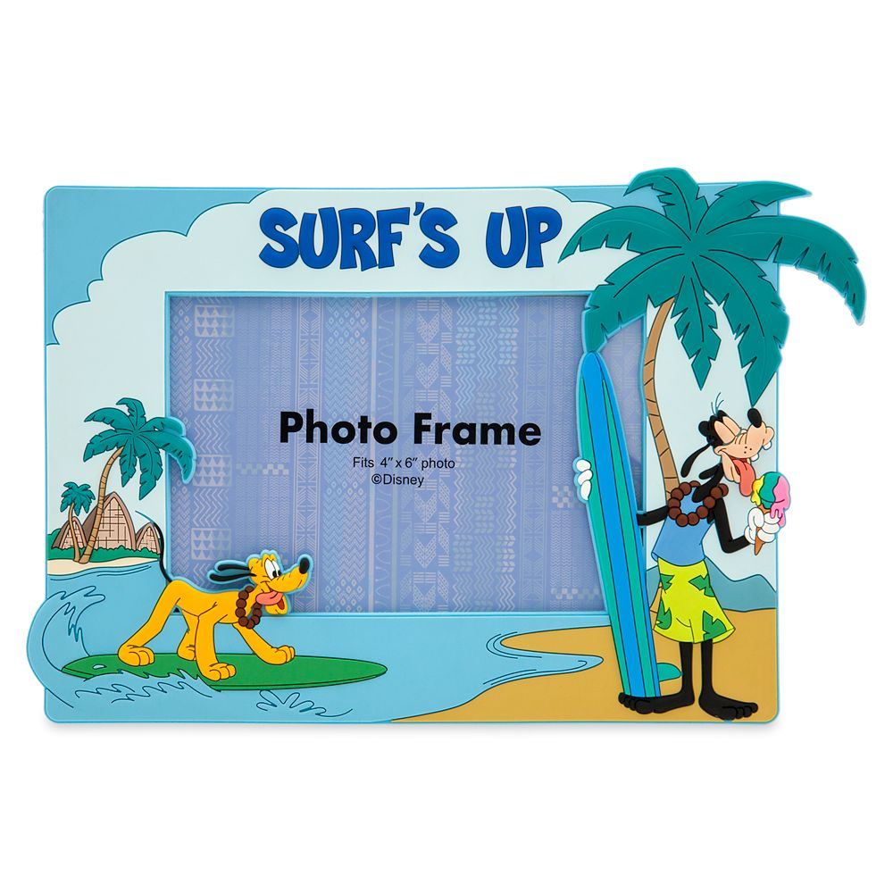 Goofy and Pluto Photo Frame – Aulani, A Disney Resort & Spa – 4'' x 6''