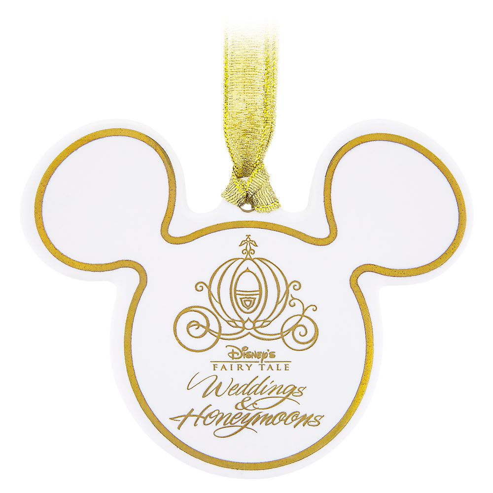 Mickey Mouse Icon Ceramic Ornament – Disney Fairy Tale Weddings