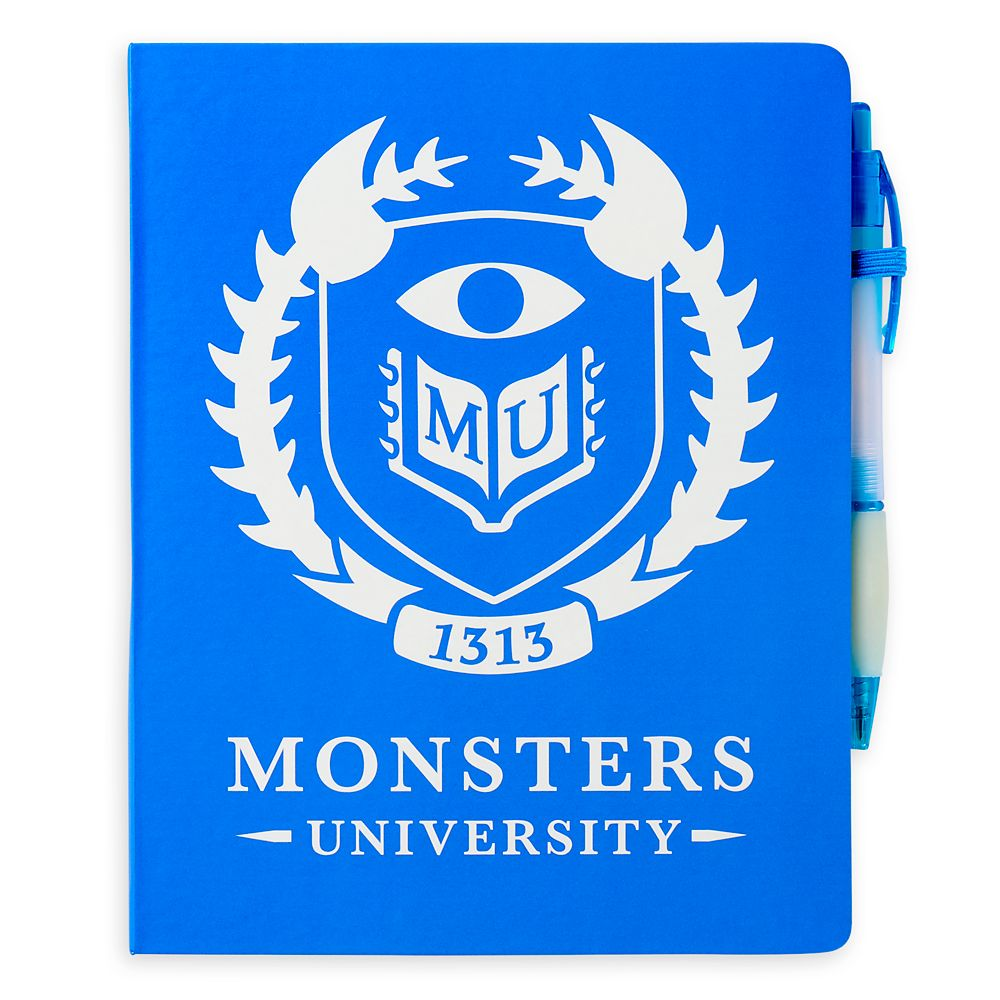 Monsters University Journal with Pen