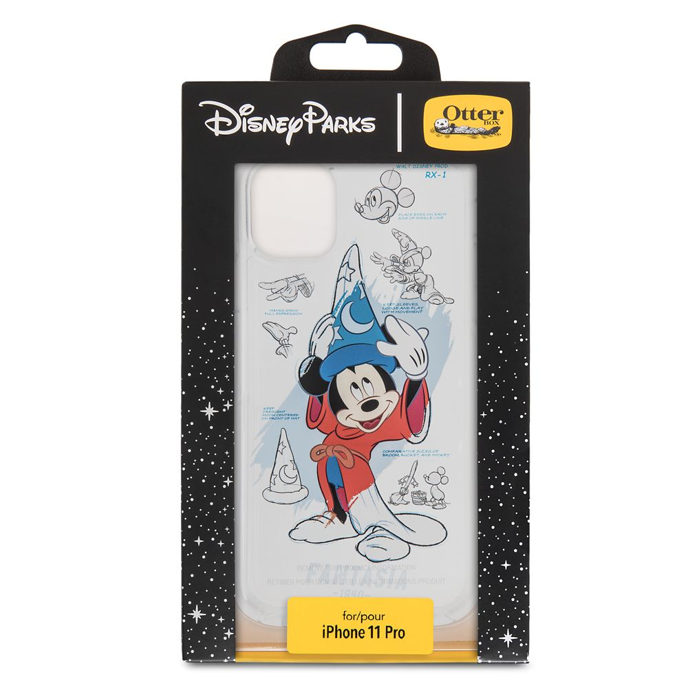 Sorcerer Mickey Mouse iPhone 11 Pro Case by OtterBox – Disney Ink & Paint